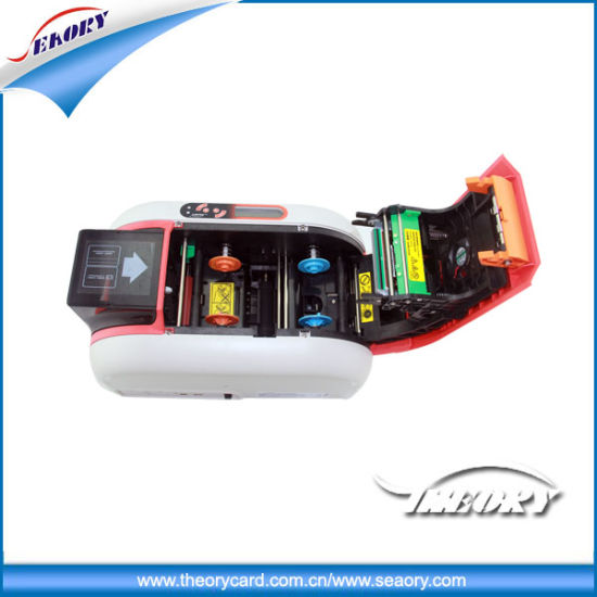 Cheap Price Plastic PVC Card Printer Thermal IC/ID Card Printer pictures & photos