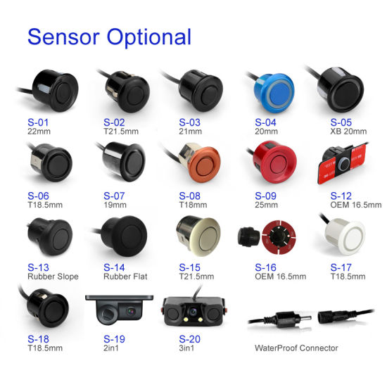 Newest Upgrade Colorful LED Display Parking Sensor Suitable for All Kinds of Vehicles pictures & photos