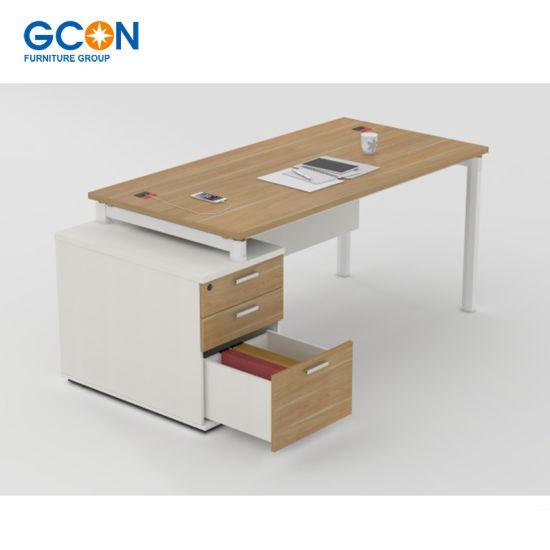 Commercial Melamine Office Desk Executive Room Furniture