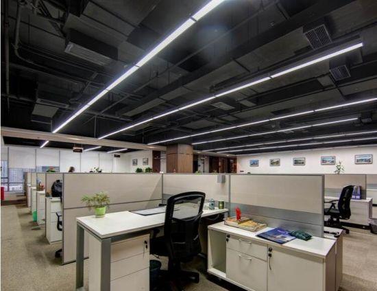 office pendant light. 18W 95-265V 3000-6000K LED Straight Sight Lens Commercial Office Pendant Lamp Light