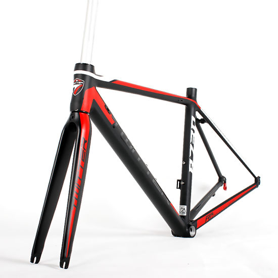 China Internal Cable Routing Aluminum Road Bikes Frame with Carbon ...