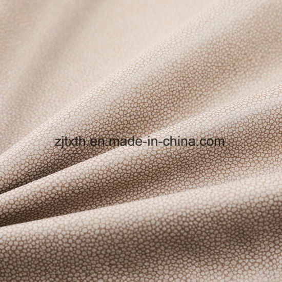 2018 New Style Upholstery Textile and Suede Leather Fabric pictures & photos