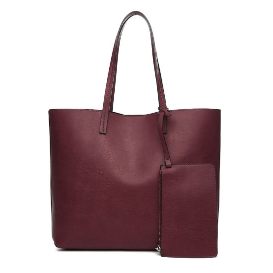 1431414b42f China 2018 Spring & Summer Stock Ladies Shopper Handbags Without Any ...