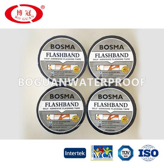Waterproofing Material with Self Adhesive Bituminous Sealing Tape