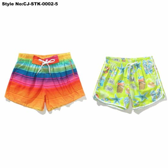 02d700aa59 Cheap Promotion Hot Sale China Swimwear Stretch spandex Cotton Boardshorts  Ladies Swim Beach Pants