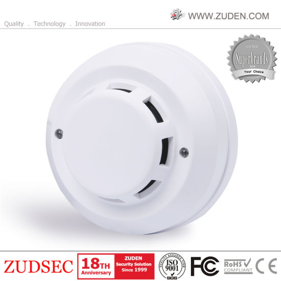 how to wiring smoke detectors to burglar alarm system technology smoke detector coil china 4 wire photoelectric smoke sensor for home alarm china smoke rh zudensecurity en made in
