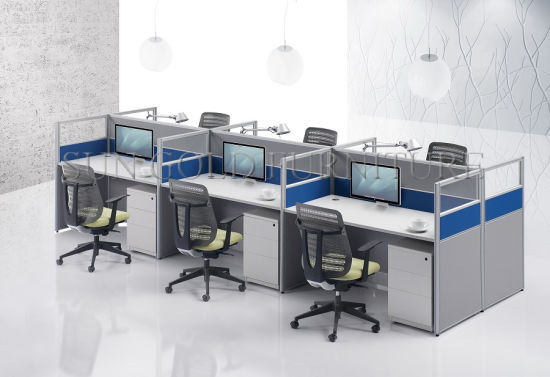 High Quality and Inexpensive Office Partition, Small Workstation (SZ-WS122) pictures & photos