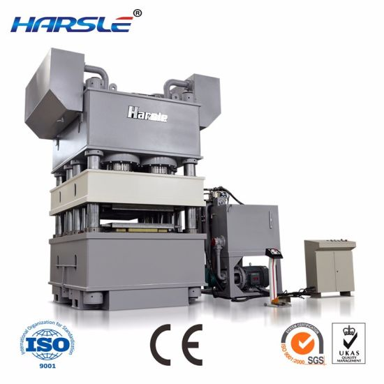 China Frame Four Column Hydraulic Press Machine for Sheet Tensile ...