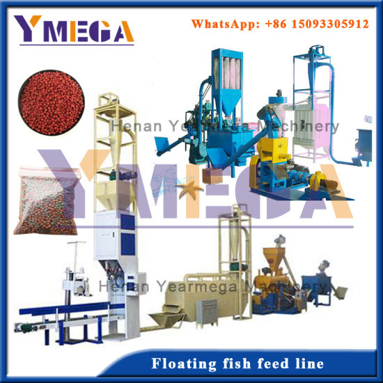 Stable Working Performance Complete Floating Fish Feed Production Line pictures & photos