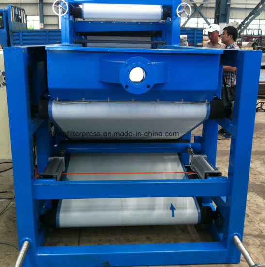 Flying Belt Filter Press for Wastewater Treatment pictures & photos
