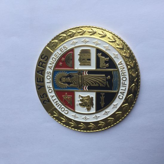 Souvenir Coin Gold Hot Selling Custom Made UAE Aman Gifts 3D Metal Gold Plated Souvenir Coin