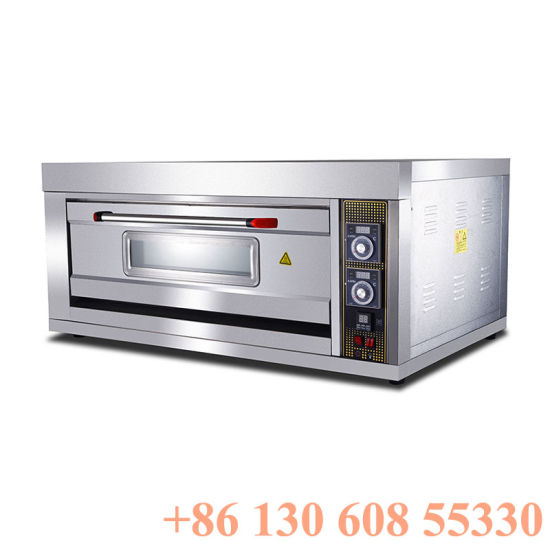 Single Layer Double Trays Commercial Bakery Bread Baking Oven