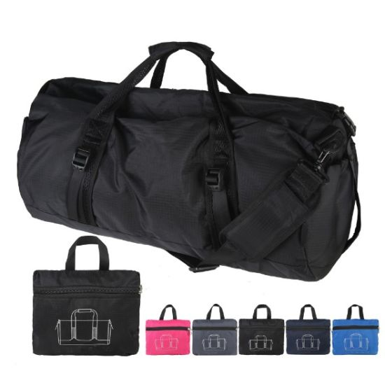 1a5caef9b8 High Quality Wholesale Waterproof Sport Foldable Travel Polyester Gym Tote  Bag