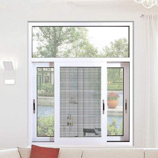 Grill Design Sliding Windows with Mosquito Net pictures & photos