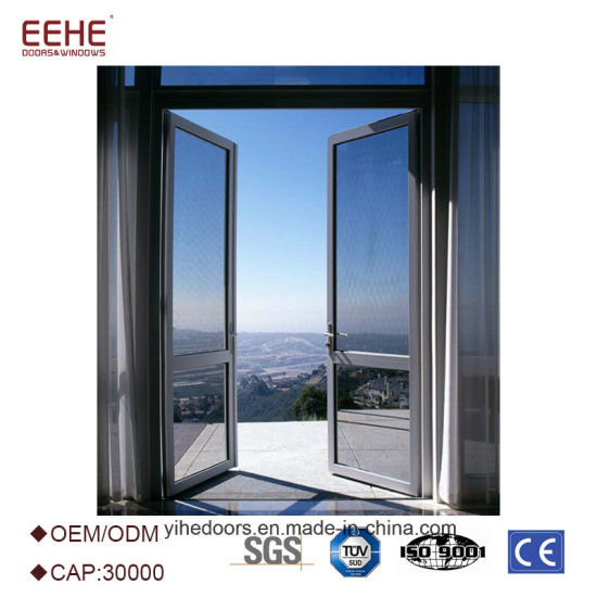 Aluminium Glass Double Entry Entrance Panel Doors Manufacturer  sc 1 st  Guangdong EHE Doors \u0026 Windows Industry Co. Ltd. & China Aluminium Glass Double Entry Entrance Panel Doors Manufacturer ...