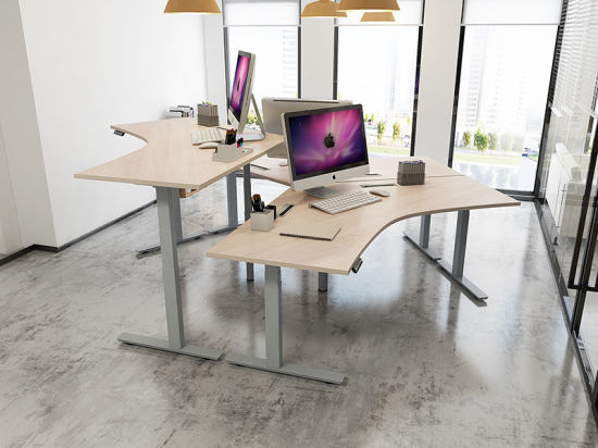 china office furniture electric office sit and stand adjustable desk