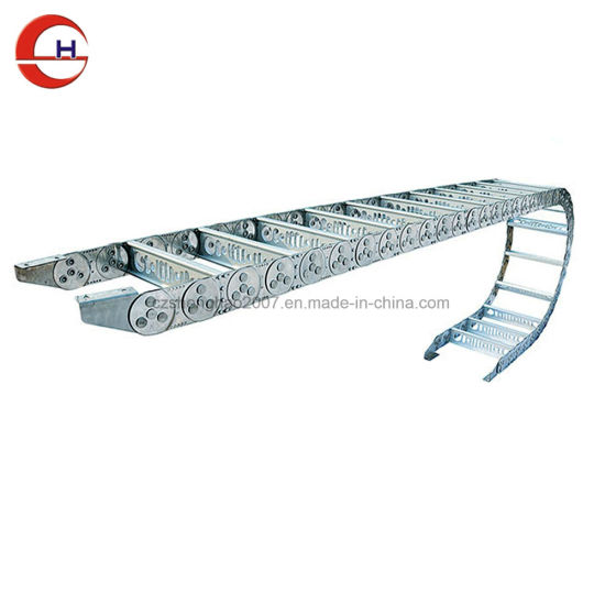 Wires Cables Energy Stainless Steel Cable Drag Chain