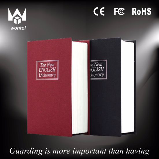 China Hollow Book Safe with Lock, Real Paper Book Safe Box