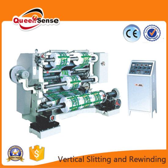 Vertical Slitting and Rewinding Machine
