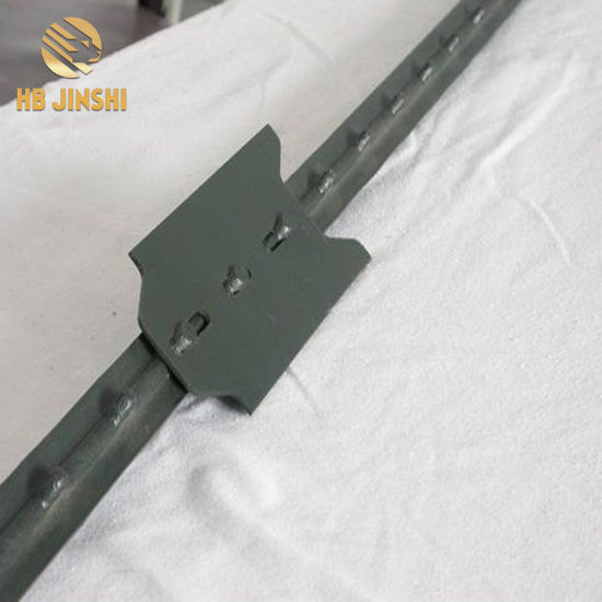 Us Market 1.33lb/FT Heavy Duty Fencing Post, Studded T Post
