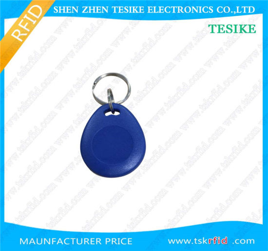 13.56MHz FM11RF08 Chip RFID Key Chiain with Logo Printing pictures & photos