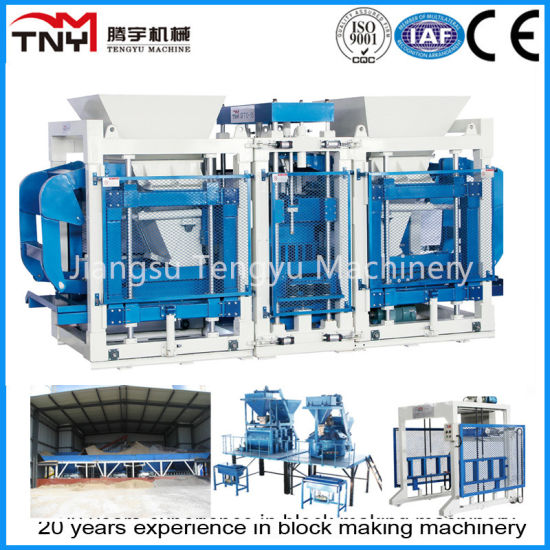 European Quality Full Automatic Concrete Block Making Machine (QT12-15) pictures & photos