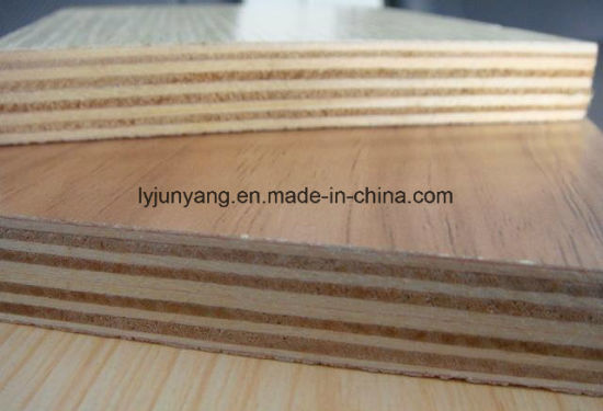 Customer Selected Thickness Pine Furniture Grade Commercial Plywood