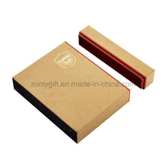 China customize gold foil logo kraft paper box postcard packaging customize gold foil logo kraft paper box postcard packaging box gift greeting card photo box m4hsunfo
