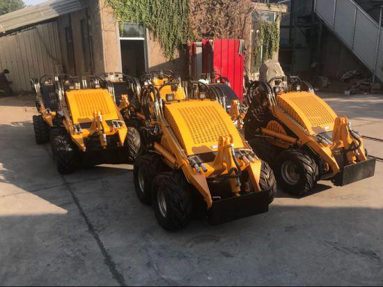 China Small Farm Equipment Skid Steer Loader in Australia