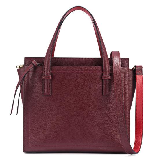 Genuine Leather Hand Bag Lady Shoulder Fashion Handbag
