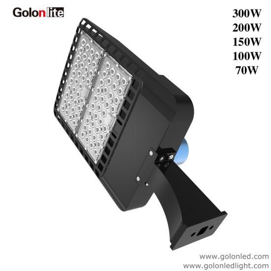 150W LED Road Street Light Commercial Garden Flood Lamp Fixture Cool White IP65
