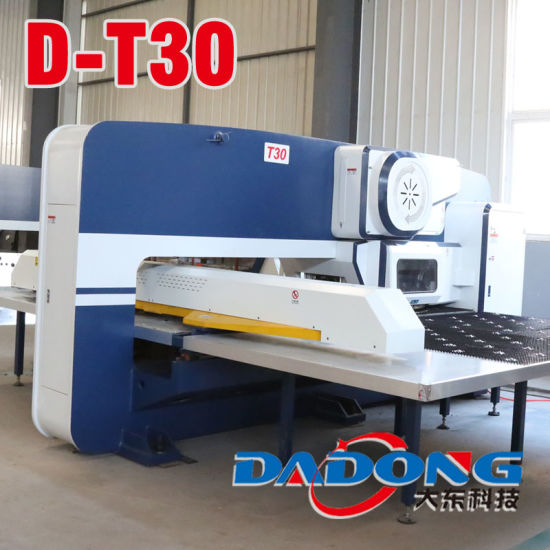 [Hot Item] CNC Turret Punch Press with 16/24/32 Work Stations for Cabinets  Hole