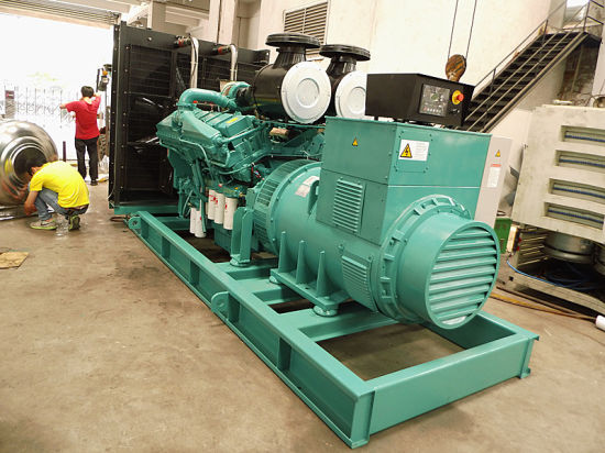 China New Standby Power Supply Engine Open Diesel Generator Set pictures & photos