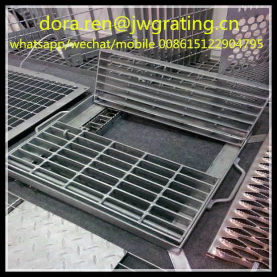 Australia Popular Flip Metal Drainage Channel Grating pictures & photos