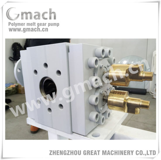 High Pressure Rubber Melt Gear Pump for Ruber Extruder pictures & photos