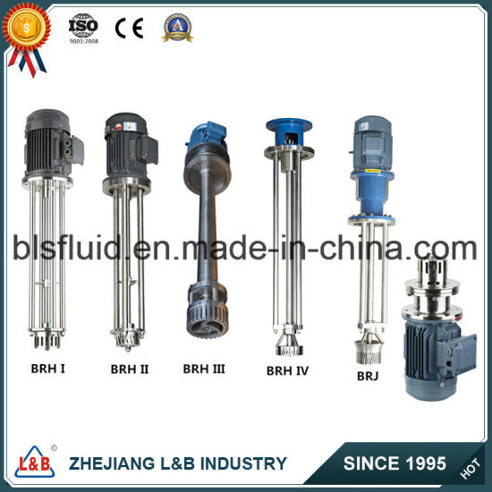 Bls Stainless Steel Emulsifying Homogenizing Cosmetic High Shearing Mixer