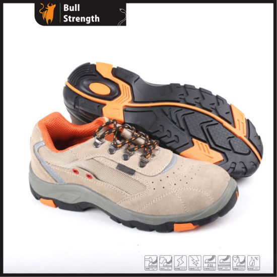 Industry Leather Safety Shoes with PU Rubber Outsole (SN5291)