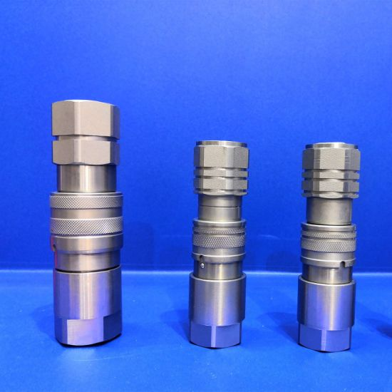 Gerneral Purpose Flat Face Non-Spill Hydraulic Quick Coupler Coupling