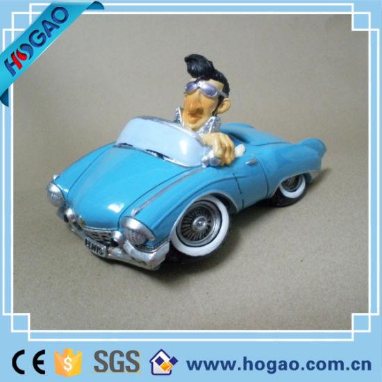 Customized Design Resin Mini Car Model for Kids or Decoration