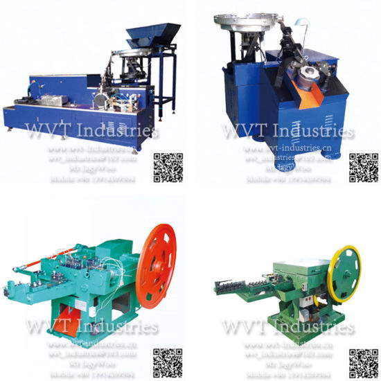High Speed Coil Nail Making/Thread Rolling Twisting Machine for Electro Hot DIP Galvanized Concrete Umbrella Roofing Wood Pallet Drywall Self Drilling Screw