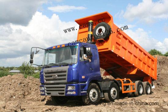 Camc 25 Cubic 12 Wheels 375HP 8X4 Heavy Duty Tipper/Dump Truck