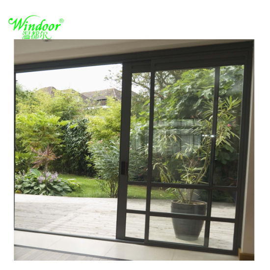 China Balcony Applying 5mm6mm Glass French Aluminum Door