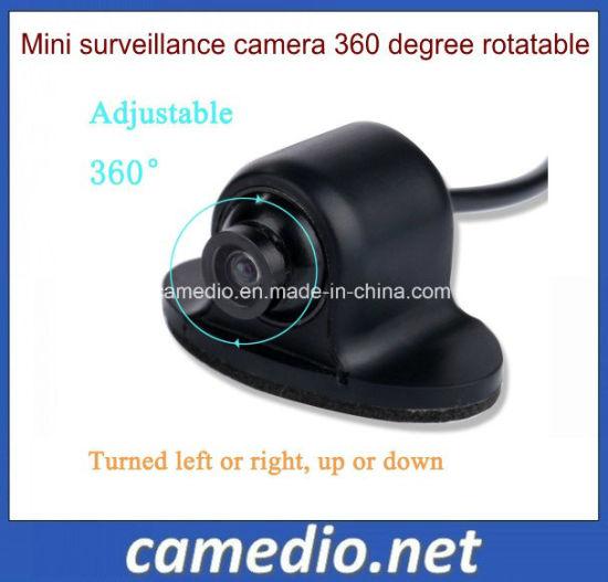 OEM 360 Degree Rotation Mini Car Surveillance Camera Rear Side View