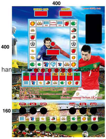 The World Cup Slot Casino Gambling Arcade Game Machines Popular in Africa