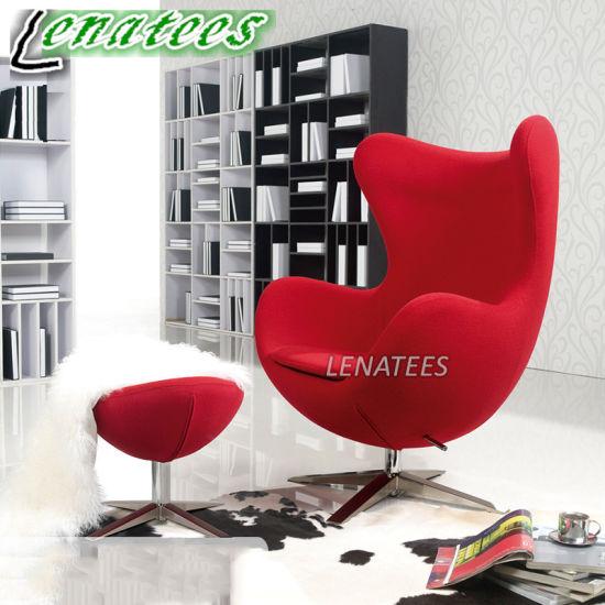 DC1005 Living Room Designer Furniture Jacobsen Egg Chair & China DC1005 Living Room Designer Furniture Jacobsen Egg Chair ...