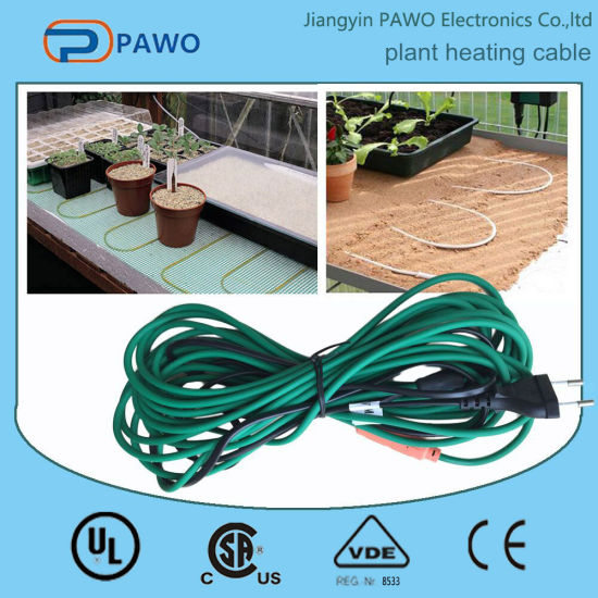 Factory Patented PVC Soil Heating Cable (220V 80W) pictures & photos