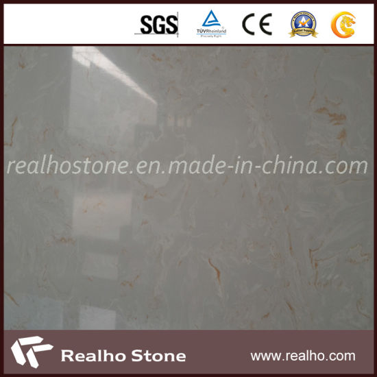 Solid Surface Artificial Quartz Stone/Engineered Stone for Kitchen/Bathroom Countertops/Vanity Tops