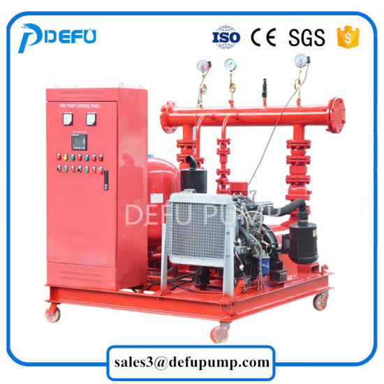 Nfpa Standard 750gpm Diesel Engine Fire Pump with Factory Price