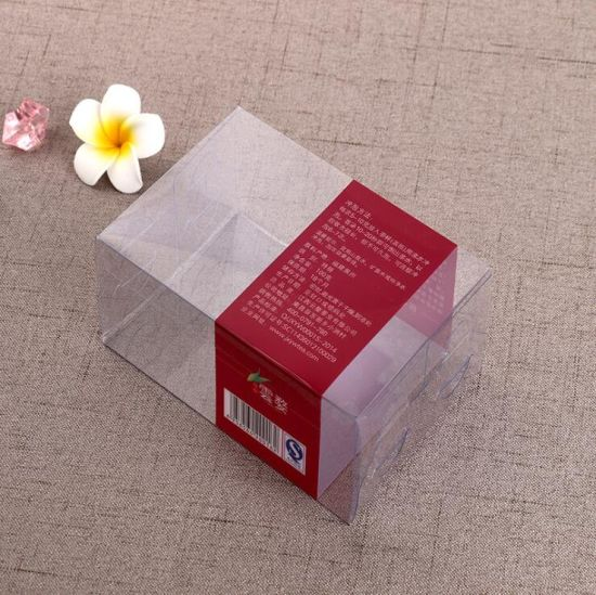 Factory Supply New Tea PVC Fold up Plastic Box Cube Folding Gift Boxes  Packaging