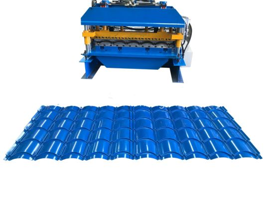 Roofing Tile Roll Forming Machine, Tile Roll Forming Machine, Metal Tile Roll Former